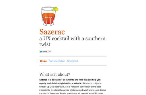 Sazerac a UX cocktail with a southern twist